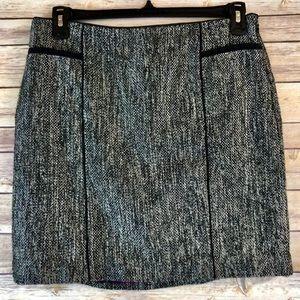 WHBM tweed skirt